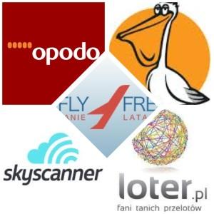 Fly4free, opodo, flipo, skyscanner, loter, empiktravel: sprawdzam je wszystkie regularnie...