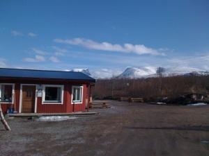 Arktyczna Laponia: pokój u Dicka i Miny - kurcze... jak oni wspaniale gotowali...