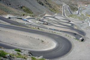 """""""Chrystus Odkupiciel"""" to wcale nie najtrudniejsza droga w Chile... jest po prostu uczęszczana i znana..."""