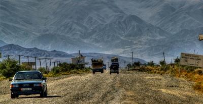 kyrgyzstan-road