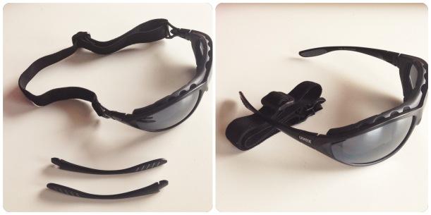 okulary w dwóch opcjach konfiguracji