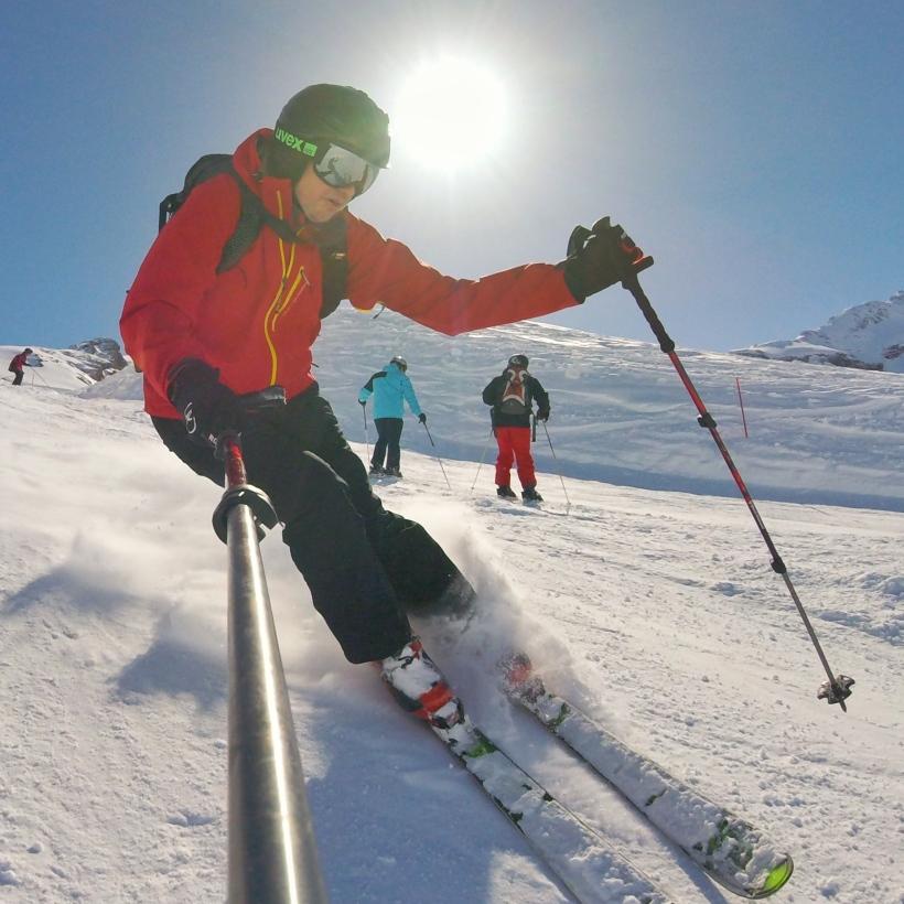 Cofam się w czasie... Marzec i niskobudżetowy wyjazd w Szwajcarskie Alpy. Może nie było adrenaliny, ale na pewno była radość, szybkość...